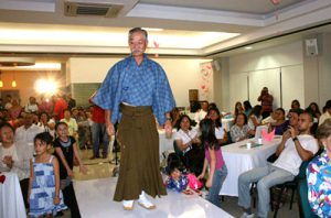 「着物ショー」を開催 南米便り