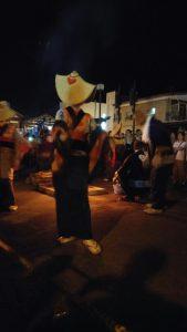 秋田の西馬音内盆踊りへ